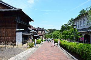 Meiji-mura - Main street of the village