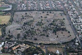 Melbourne General Cemetery cemetery in Melbourne, Australia