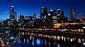 Melbourne and the Yarra River. (21110609485).jpg
