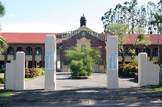 Tully State School - Memorial gates, 2011