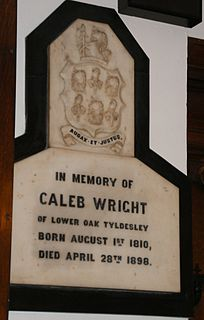 Caleb Wright British politician