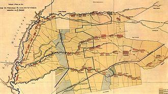 Black Sea Germans - 1912 Molotschna Colony map