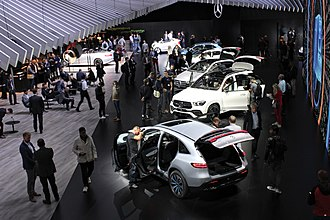 2018 Paris Motor Show - Mercedes-Benz stand at the 2018 Paris Motor Show