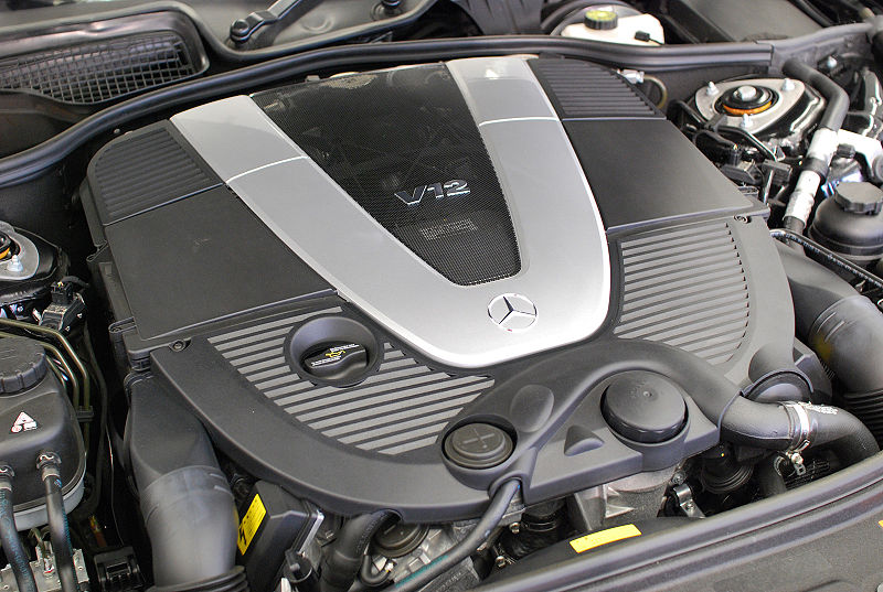 File mercedes benz m275 engine jpg wikipedia for 2008 mercedes benz ml350 problems