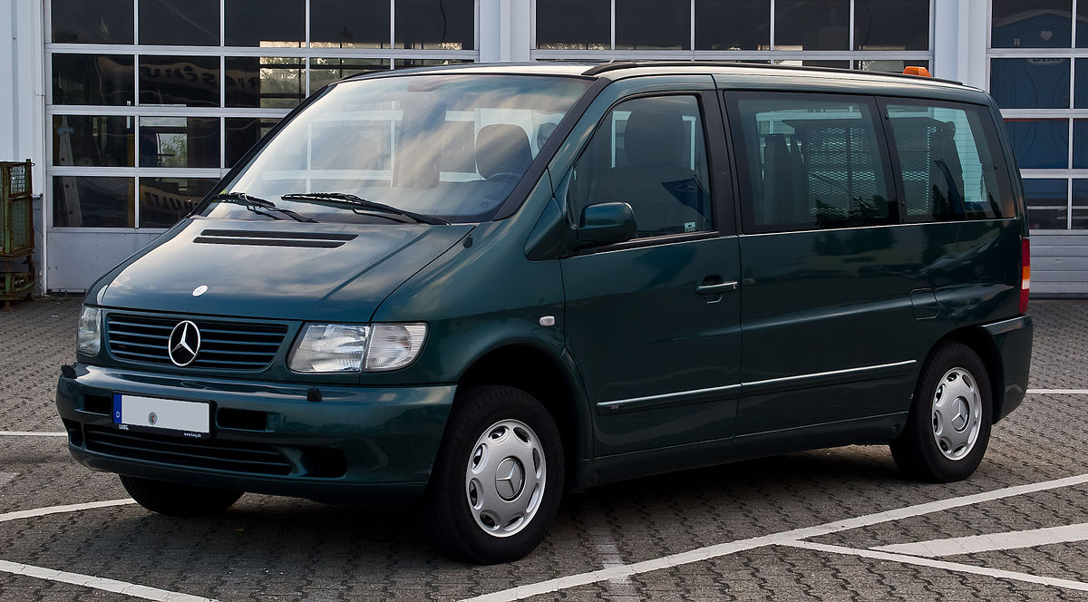 Mercedes Benz Vito Luggage Space With  Passengers