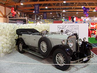 Mercedes 15/70/100 PS - Mercedes 15/70 PS  with Torpedo style bodywork