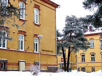 Deaf culture - Merikartano school for deaf students in Oulu, Finland (February 2006)