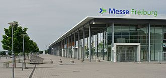 Messe Freiburg - The main building of the new Messe Freiburg