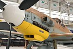 Messerschmitt Bf109G-6 Trop '10639 Black 6' (G-USTV) (47024076172).jpg