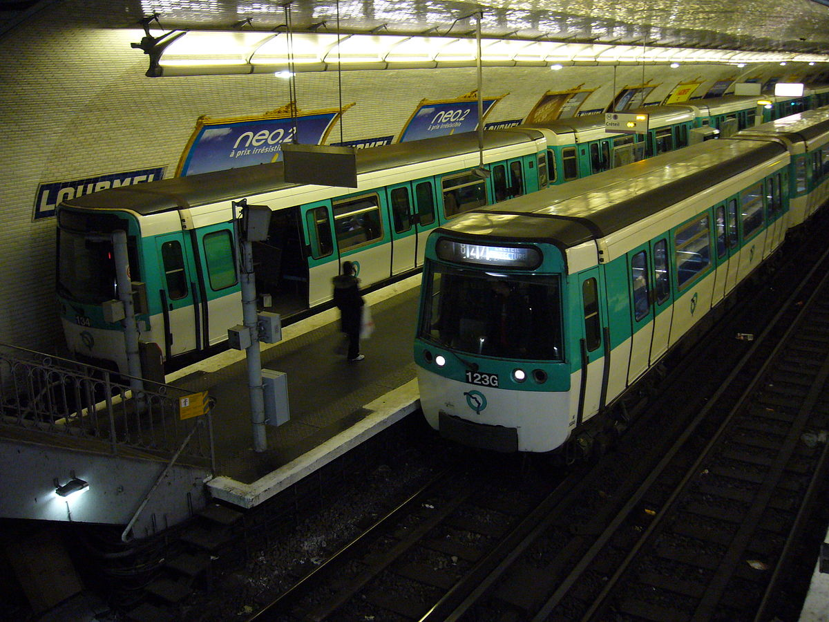 Lourmel (Paris Métro) - Wikipedia