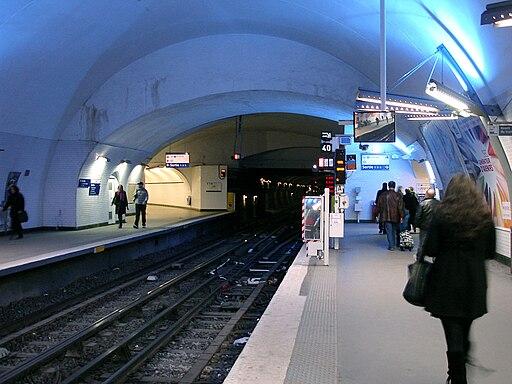 Metro de Paris - Ligne 3 - Gambetta 08