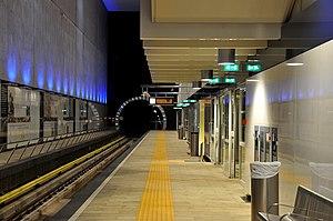 Blijdorp RandstadRail station - Image: Metrostration Blijdorp Rotterdam 2
