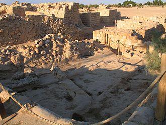 Ir Ovot - Fortress gate.