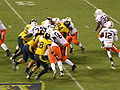 Miami on offense at 2008 Emerald Bowl 10.JPG