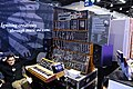Michael Boddicker Modular System - Moog System 55 (1976), minimoog (1975), Moog Bode Vocoder (1979), Formula Sound Multiple Resonance Filter Array (1979), with Moog Percussion Controller model 1130 (landscape) - 2015 NAMM Show.jpg