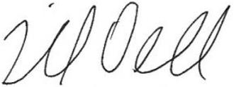 Michael Dell - Image: Michael Dell signature
