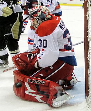 Michal Neuvirth - Neuvirth with the Capitals in January 2012.