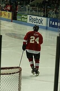 Michel Petit Canadian ice hockey defenceman