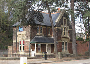 Middlewood Hospital - The Lodge on Middlewood Road is now part of a nursery