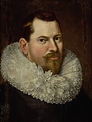 Portrait of a man in a lace ruff.