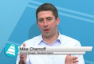 Mike Chernoff (baseball) - Image: Mike Chernoff (baseball) 2017 01 27