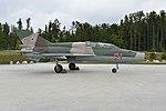 Mikoyan-Gurevich MiG-21UM '21 red' (38123408991).jpg