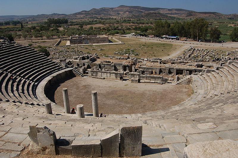 Ficheiro:Milet Amphitheater1.JPG