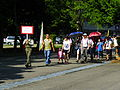 Military Police School Cadet Leading Visitors into School Ground 20120908b.jpg
