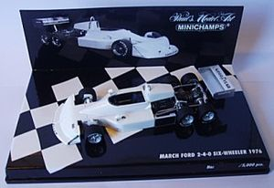 March 2-4-0 - Minichamps 1:43 scale model of the March 2-4-0