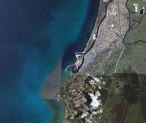 Miri seen from satellite