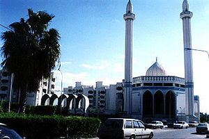Misurata - The main mosque at Misrata