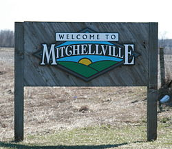 Mitchellville Iowa 20100328 Sign.JPG