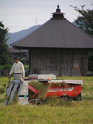 Mitsubishi Agricultural Machinery - Mitsubishi combine harvester MC1650