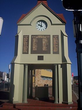 Le monument aux morts de Mittagong