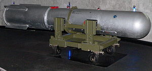 B28 nuclear bomb - B28FI as used on a B52 bomber