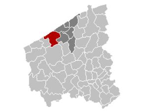 Middelkerke - Image: Mnp Middelkerke Location