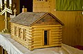 Model of original church - Wilimington Lutheran Church - Arnegard North Dakota - 2013-07-06.jpg
