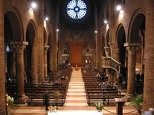 Interior of the Cathedral.