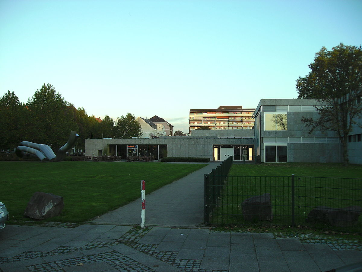 Moderne Wohnzimmerwande Galerie : Saarland museum wikipedia