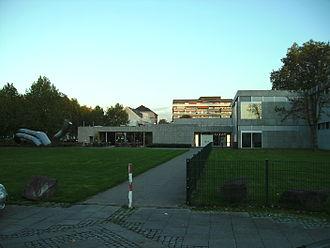 Saarland Museum - Saarland Museum, Moderne Galerie (Modern Gallery), entrance