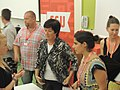 Mona Sahlin at the Swedish Social Democratic Youth League's general election camp 2014 (14845046262).jpg