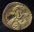 Monete d'oro di giustiniano II e tiberio IV, 705-711, 06, 5.jpg