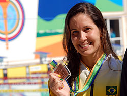 Monique Ferreira Bronze Pan 2007.jpg