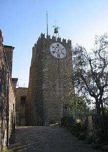 La Torre dell'Orologio di Montecatini Alto