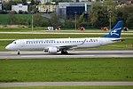 Montenegro Airlines Embraer 195LR (ERJ-190-200LR) 4O-AOA (29265504713).jpg