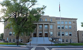 Montrose County, Colorado - Image: Montrose County Courthouse (15076304426)