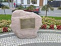Monument in Wolborz (950 yers).jpg
