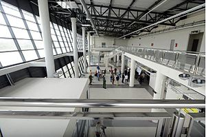 Morava Airport - New terminal interior
