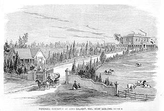 Bell Post Hill, Victoria Suburb of Geelong, Victoria, Australia