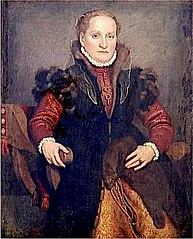 Portrait d'Angelica Agliardi de Nicolinis
